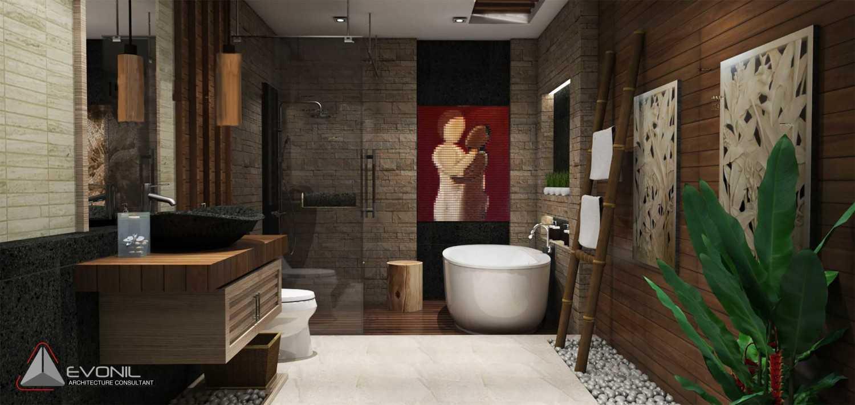 Evonil Architecture Residence Jatiwaringin Jatiwaringin, Jakarta Jatiwaringin, Jakarta Master-Bathroom-1-Rev Kontemporer 13041