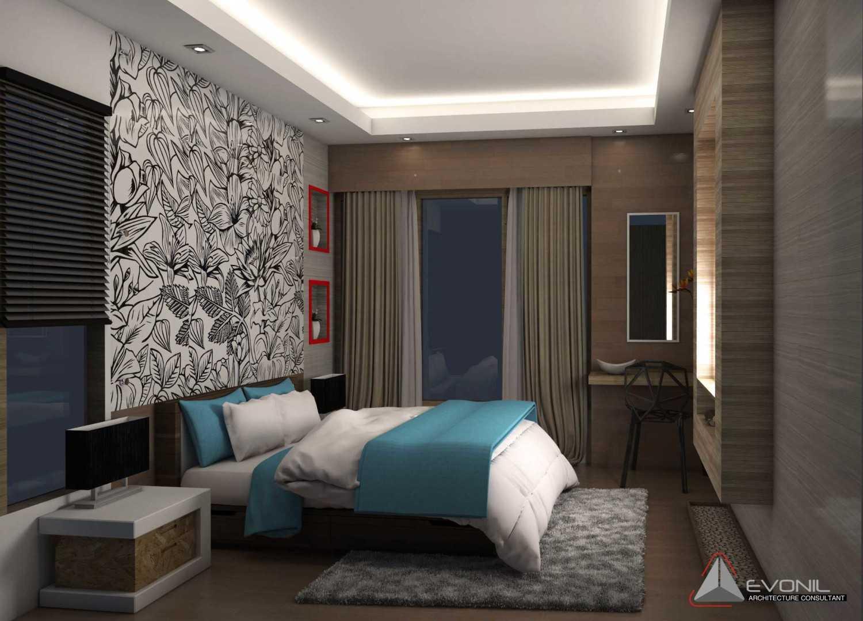 Evonil Architecture Residence Jatiwaringin Jatiwaringin, Jakarta Jatiwaringin, Jakarta Guest-Bedroom-1-Rev Kontemporer 13045