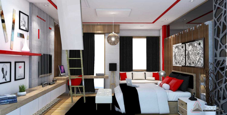 Foto inspirasi ide desain kamar tidur tradisional Children-bedroom-1-rev oleh Evonil Architecture di Arsitag