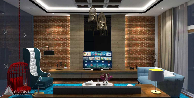 Foto inspirasi ide desain ruang keluarga tradisional Ruang-keluarga-alt oleh Evonil Architecture di Arsitag