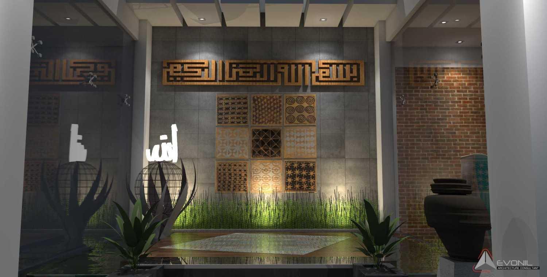 Foto inspirasi ide desain kolam kontemporer Musholla-view2-rev oleh Evonil Architecture di Arsitag