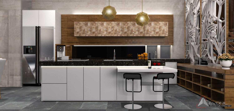 Foto inspirasi ide desain retail tradisional Kitchen-rev oleh Evonil Architecture di Arsitag