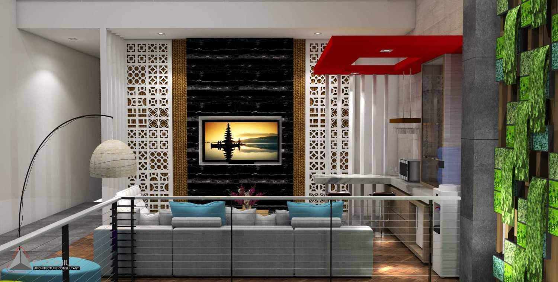 Evonil Architecture Residence Jatiwaringin Jatiwaringin, Jakarta Jatiwaringin, Jakarta Living-Room-Lantai-2-Rev Tradisional 13067