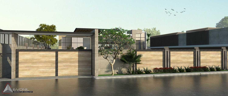 Evonil Architecture Residence Pangkalan Bun Pangkalan Bun, Kalimantan, Indonesia Pangkalan Bun, Kalimantan, Indonesia Entrance-Gate-Day-View-Residence-Pangkalan-Bun Modern 13130