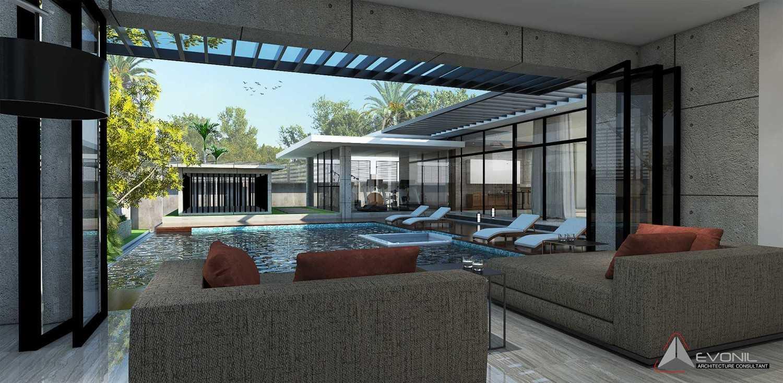 Evonil Architecture Residence Pangkalan Bun Pangkalan Bun, Kalimantan, Indonesia Pangkalan Bun, Kalimantan, Indonesia Lounge-Residence-Pangkalan-Bun Modern 13141
