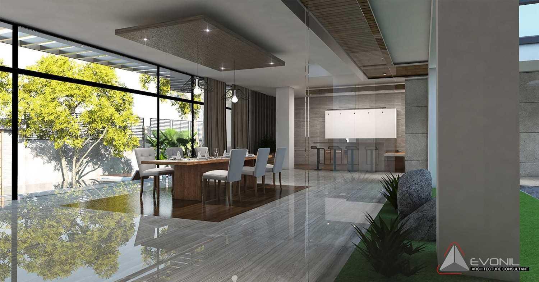 Evonil Architecture Residence Pangkalan Bun Pangkalan Bun, Kalimantan, Indonesia Pangkalan Bun, Kalimantan, Indonesia Residence-Pangkalan-Bun-Night-View Modern 13153