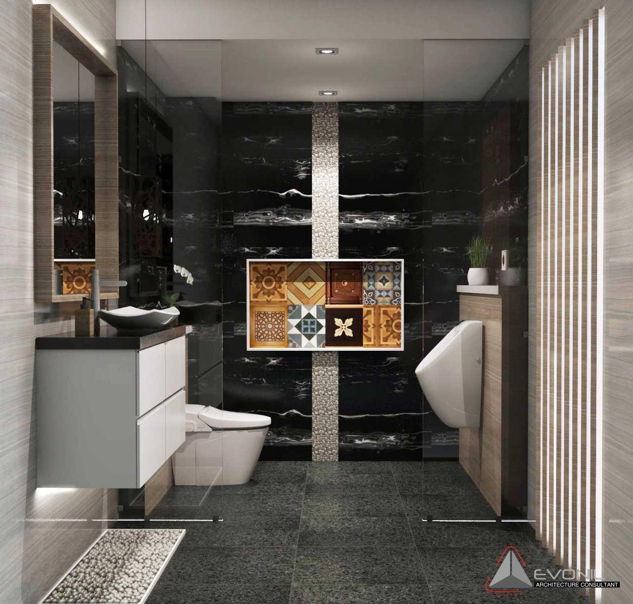 Evonil Architecture Residence Pangkalan Bun Pangkalan Bun, Kalimantan, Indonesia Pangkalan Bun, Kalimantan, Indonesia Wc-Guest-Room-Residence-Pangkalan-Bun Modern 13160
