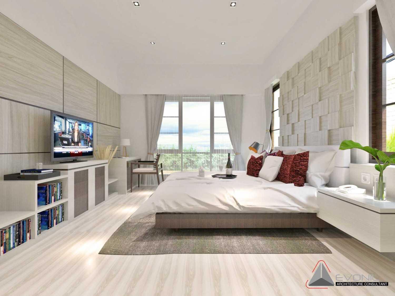 Foto inspirasi ide desain kamar tidur klasik Kamar-tidur-utama-rev oleh Evonil Architecture di Arsitag