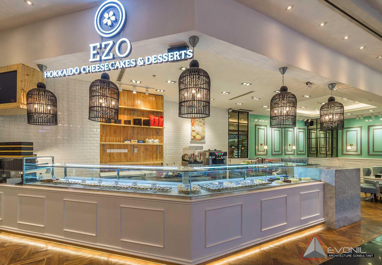 Foto inspirasi ide desain exterior klasik Cakes display oleh EVONIL Architecture di Arsitag