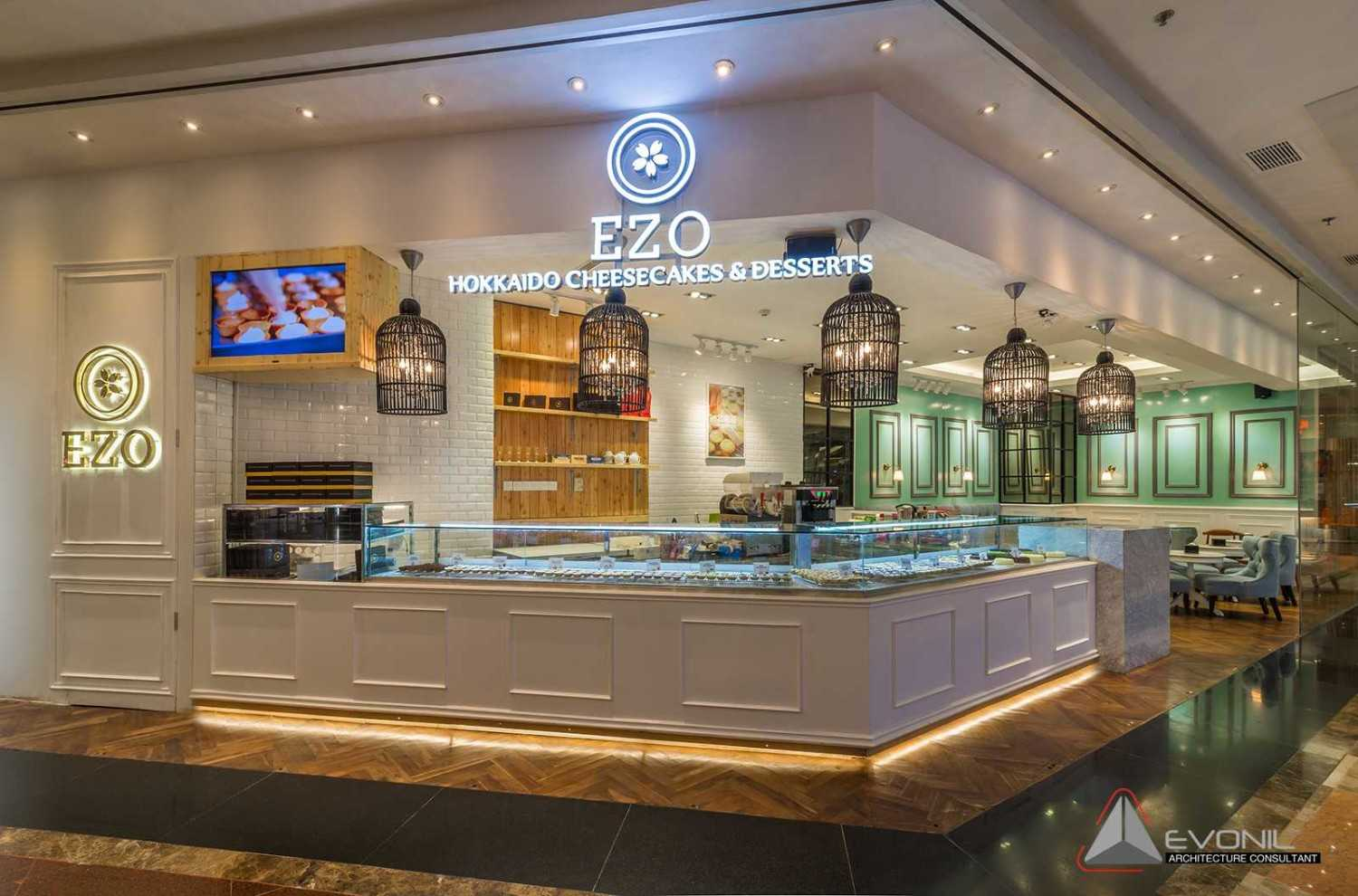 Evonil Architecture Ezo Cheesecakes & Bakery At Mall Taman Anggrek West Jakarta West Jakarta Side View Asian 26079