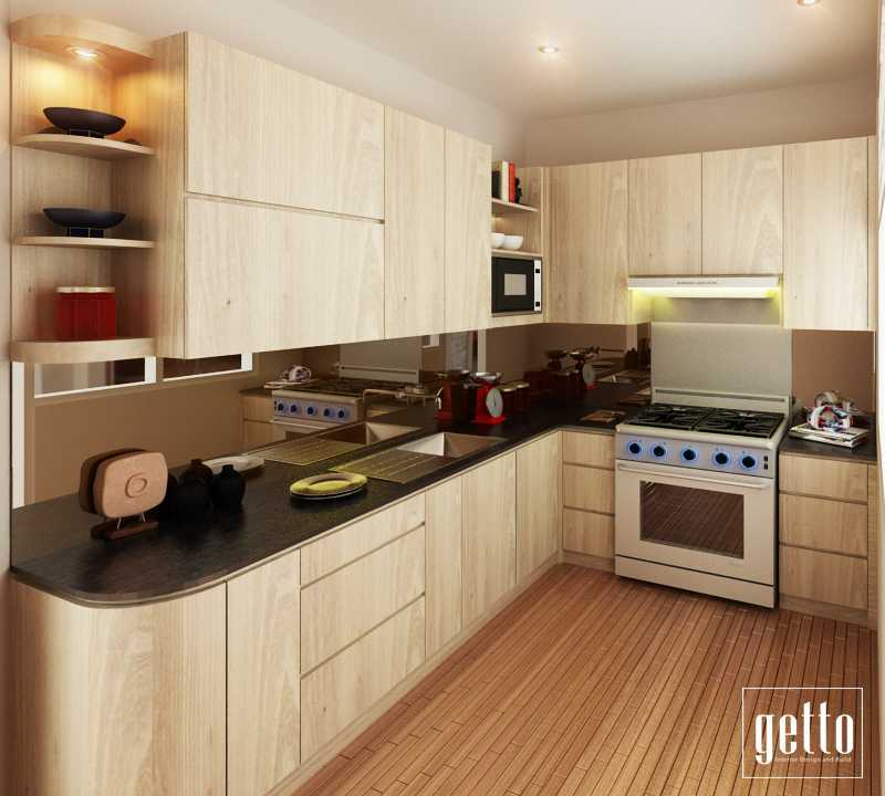Getto Id Kitchen Set Villa Melati Mas Bsd Bsd Kitchen Modern 14159