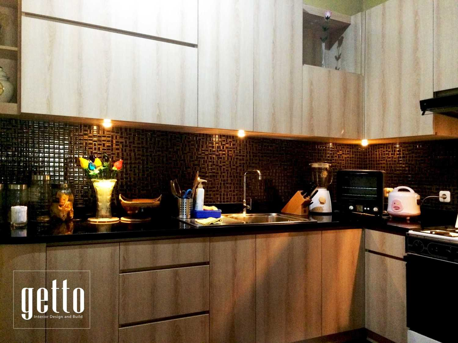 Getto Id Kitchen Set Villa Melati Mas Bsd Bsd Kitchen Modern 14163