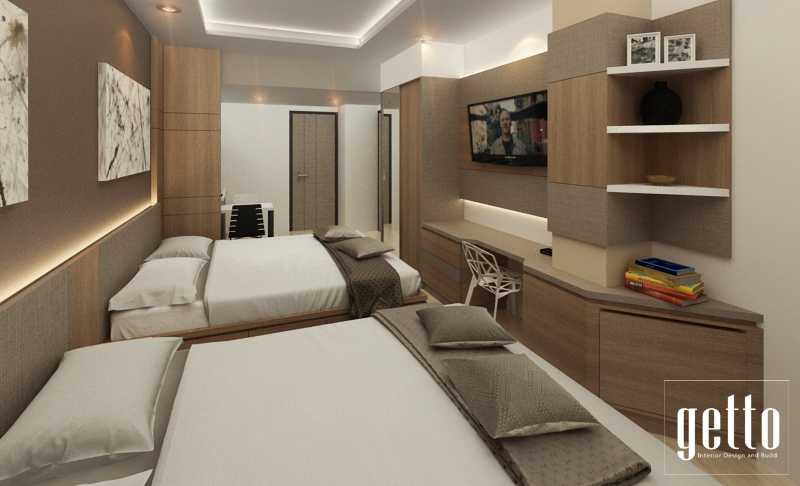 Getto Id Apartment Studio Bandung Bandung Bedroom Modern 14447
