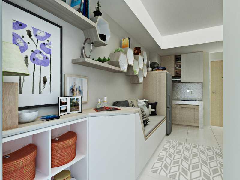 Foto inspirasi ide desain apartemen skandinavia 2 oleh Getto ID di Arsitag