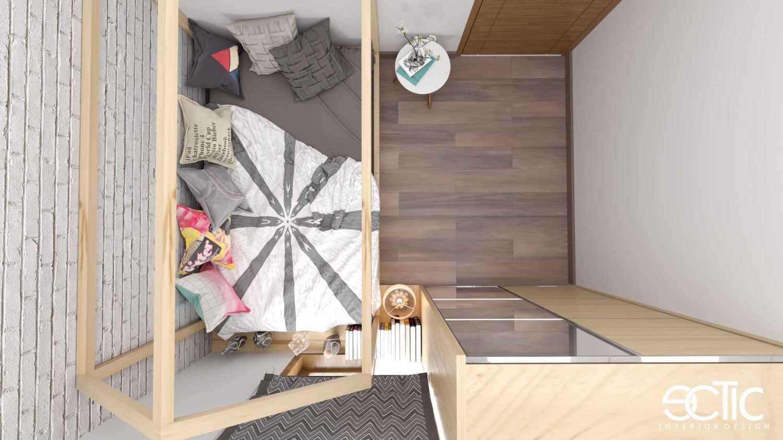 Foto inspirasi ide desain kamar tidur anak minimalis Kamar-anak-view-3-mr oleh irvan ginanjar di Arsitag