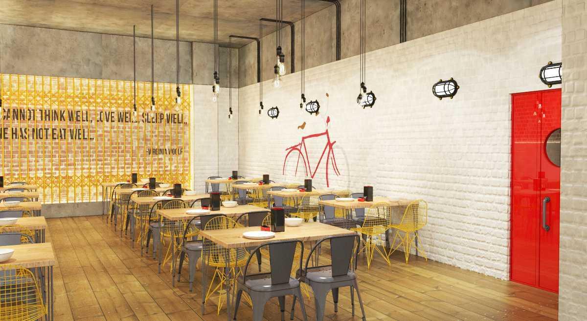 Foto inspirasi ide desain ruang makan asian Dining area oleh arkitekt.id di Arsitag