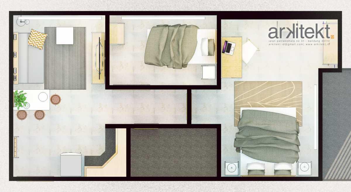 Arkitekt.id The Mansion Bougenville Jakarta Jakarta Floor Plan Modern 20660