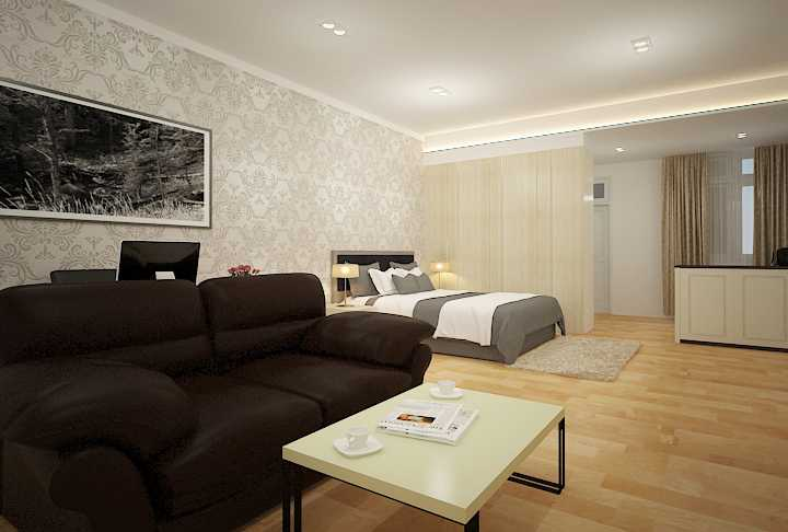 7Design Architect Bedroom For Mr. H Villa Gading Indah Villa Gading Indah Bedroom Kontemporer 16757