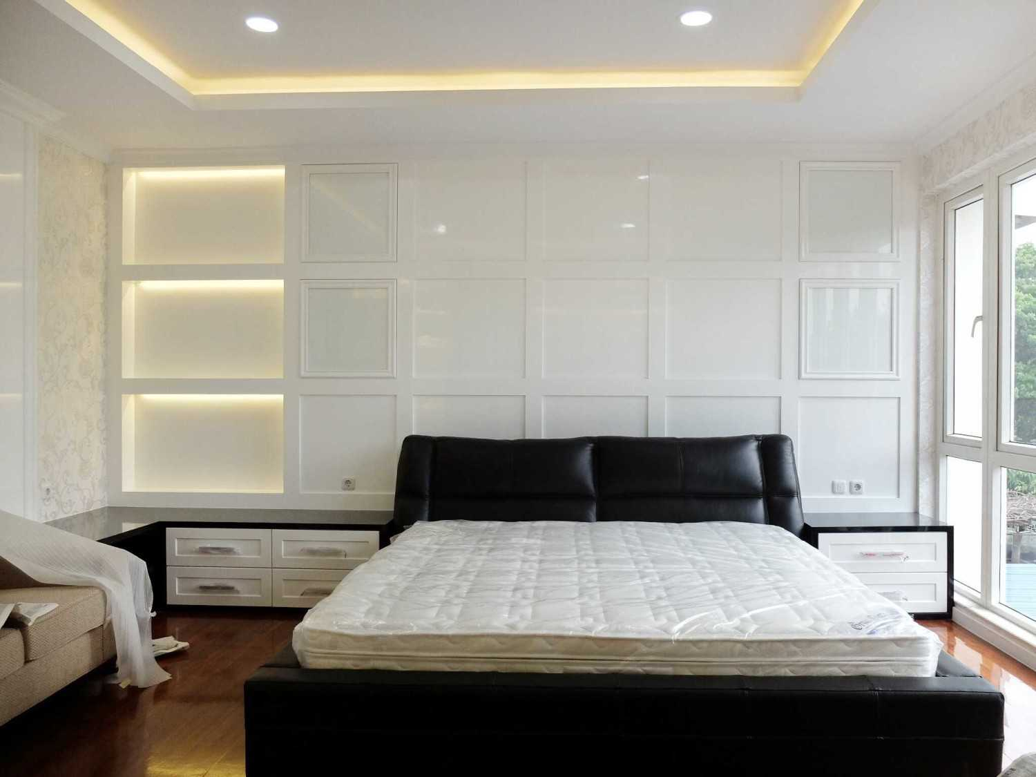 7Design Architect Mr. H House At Spring Hill Spring Hill Golf Residence, Kemayoran Spring Hill Golf Residence, Kemayoran Bedroom Modern 18277