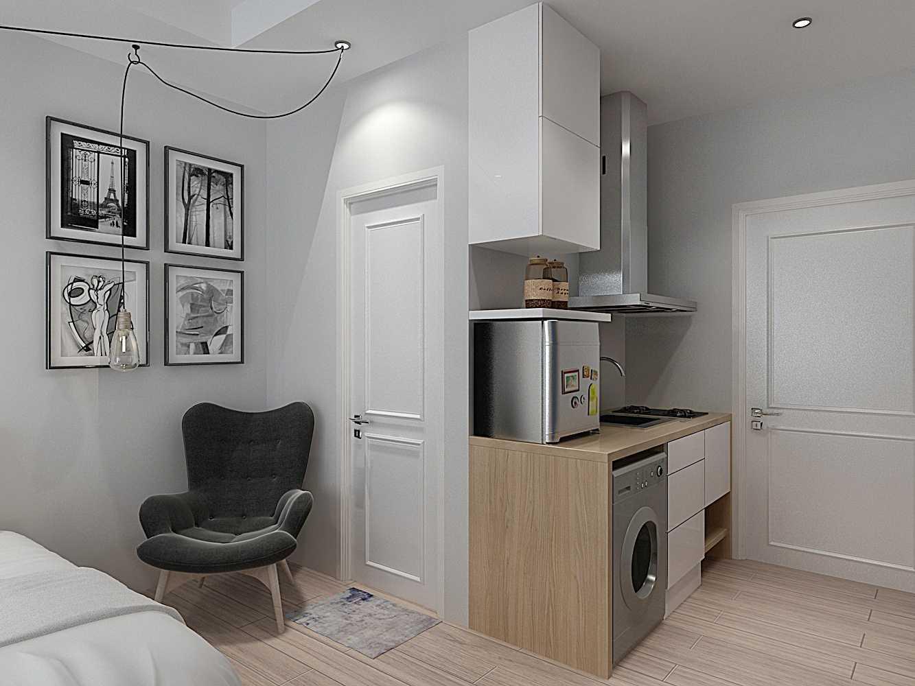 Foto inspirasi ide desain dapur skandinavia V3-3-011492687066410 oleh 7Design Architect di Arsitag