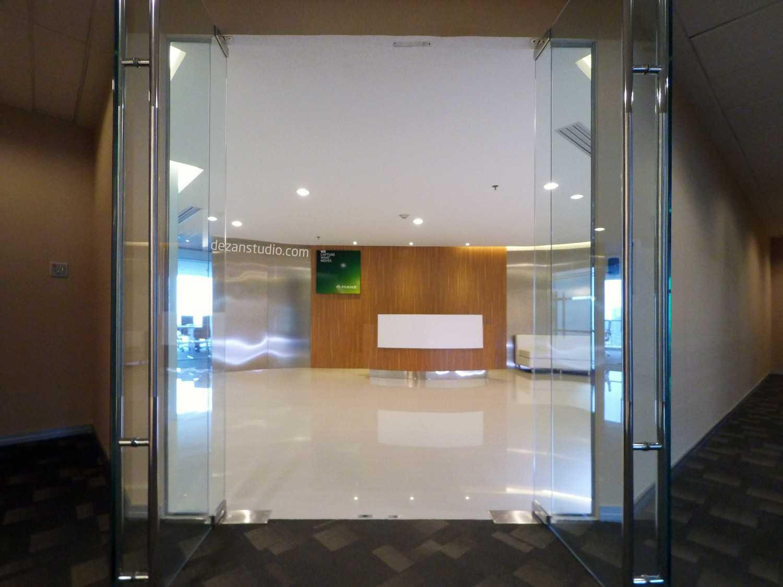Dezan Studio Mane Office K-Link Tower, Jakarta K-Link Tower, Jakarta Entrance Modern 14439