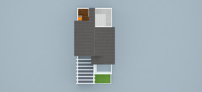 Takhta.aksata Renovasi Rumah Tinggal Komp. Metro, Cilegon Komp. Metro, Cilegon Denah-3-Rumah-Pantai  14546