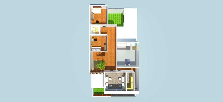 Takhta.aksata Design Rumah Tinggal Dan Make-Up Class Sentul Sentul Denah Modern 14564