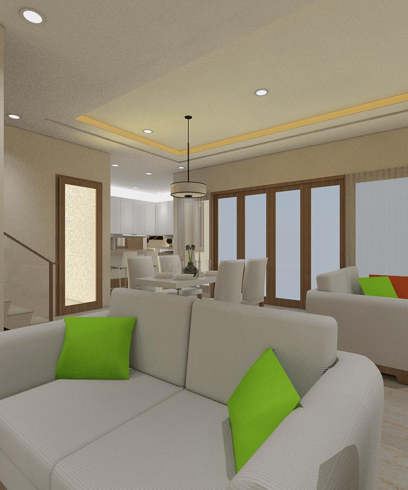 Ari Endra Kristianto Home Interior Bogor Bogor Dining Room Modern 25994