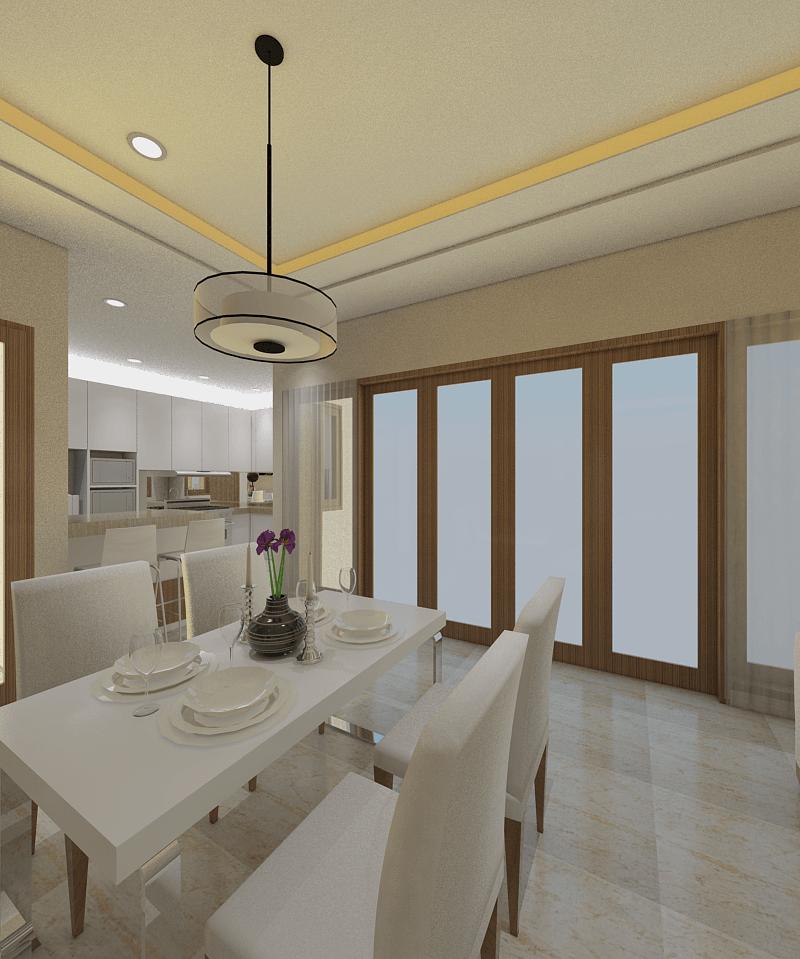 Ari Endra Kristianto Home Interior Bogor Bogor Dining Room Modern 25996