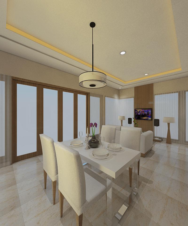 Ari Endra Kristianto Home Interior Bogor Bogor Dining Room Modern 25997