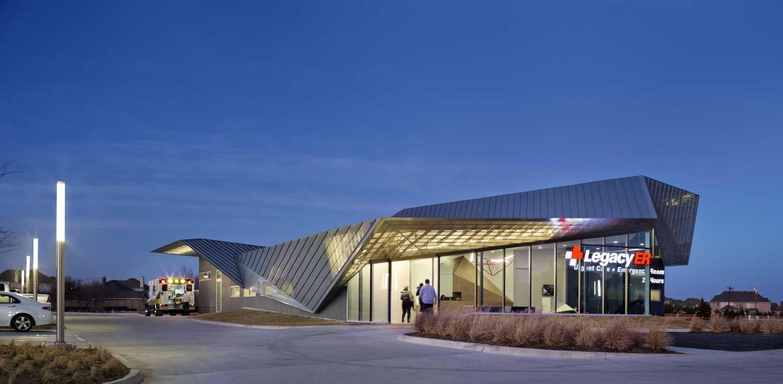 5G Studio Collaborative Legacy Er At Allen Allen, Texas Allen, Texas Front View Modern 14955
