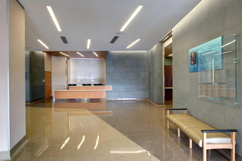 5G Studio Collaborative Ron J. Anderson Md Clinic  Dallas, Texas Dallas, Texas Lobby View  22495