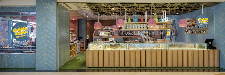 Foto inspirasi ide desain display area Front view oleh Alvin Tjitrowirjo, AlvinT Studio di Arsitag
