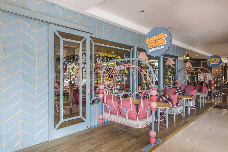 Alvin Tjitrowirjo, Alvint Studio Colette Lola Puri Indah  Puri Indah Mall, Jakarta  Puri Indah Mall, Jakarta  Seating Area Industrial 15629