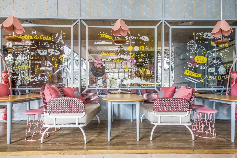 Alvin Tjitrowirjo, Alvint Studio Colette Lola Puri Indah  Puri Indah Mall, Jakarta  Puri Indah Mall, Jakarta  Seating Area Restaurant Industrial 15631