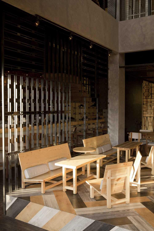 Alvin Tjitrowirjo, Alvint Studio Porterhouse Pantai Indah Kapuk, Jakarta, Indonesia Pantai Indah Kapuk, Jakarta, Indonesia Seating Area Industrial 19685