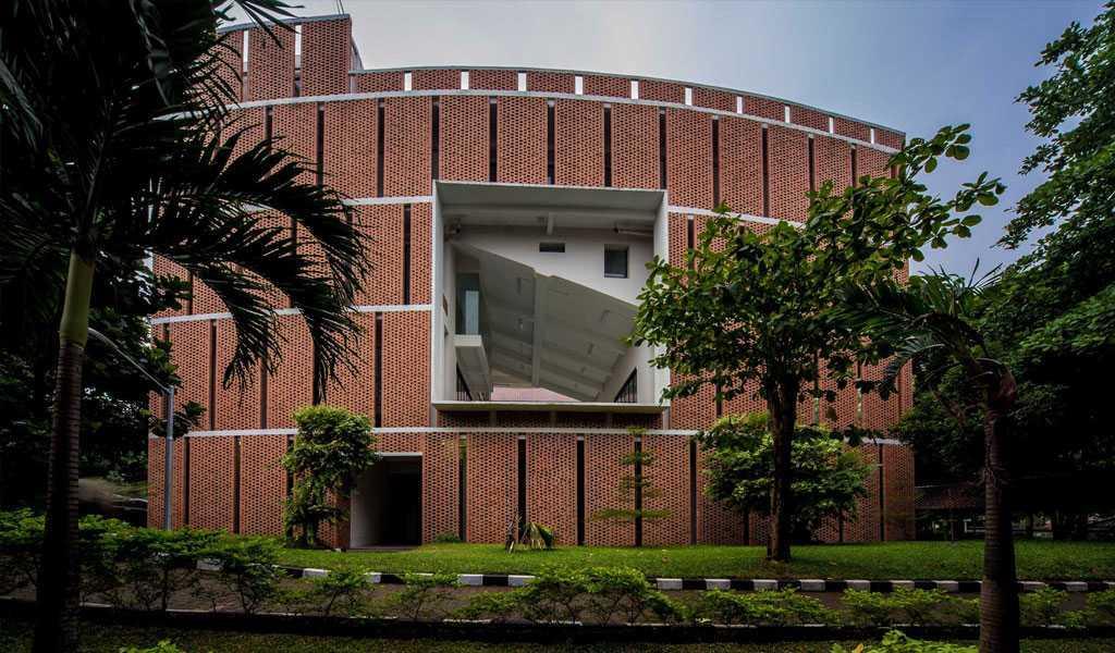 Han Awal & Partners Gedung Quantum Elektro Ui Universitas Indoesia  Universitas Indoesia  Front View  15266