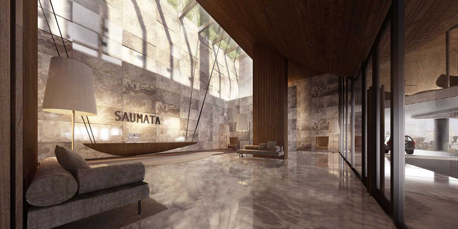 Aboday Architect Saumata Tangerang, Indonesia Tangerang, Indonesia Lobby Kontemporer 15406