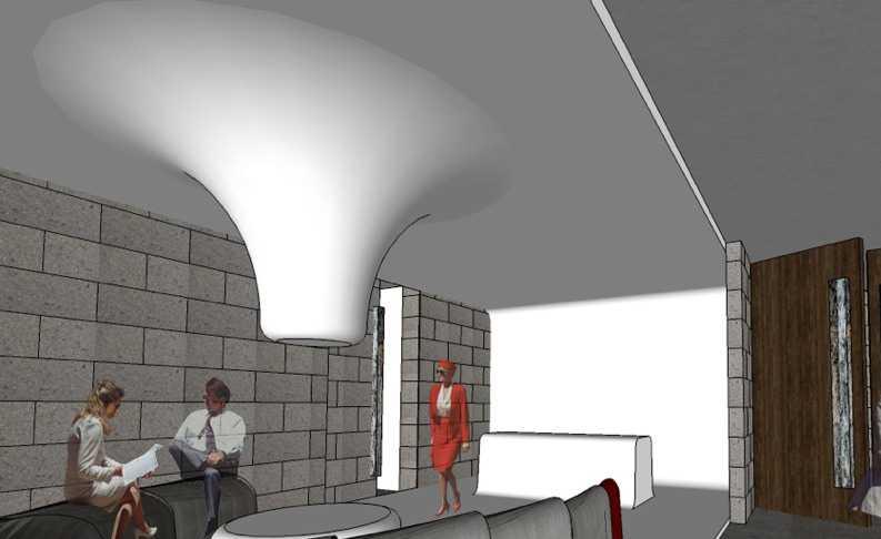 Foto inspirasi ide desain lobby kontemporer Lobby oleh Aboday Architect di Arsitag