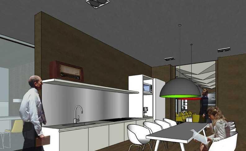Foto inspirasi ide desain dapur kontemporer Pantry oleh Aboday Architect di Arsitag