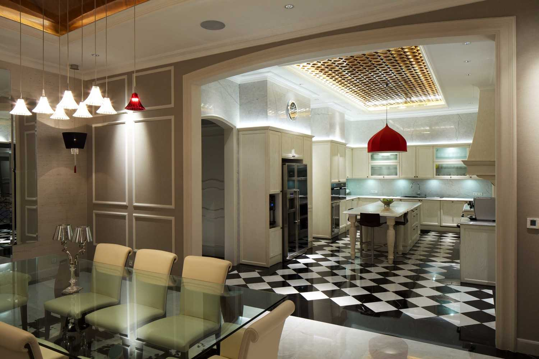 Foto inspirasi ide desain dapur kontemporer Kitchen oleh VIN•DA•TE di Arsitag
