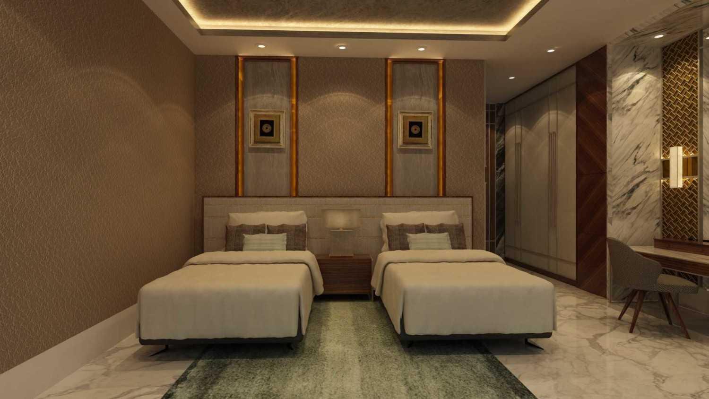 Foto inspirasi ide desain kamar tidur kontemporer Photo-17204 oleh VIN•DA•TE di Arsitag