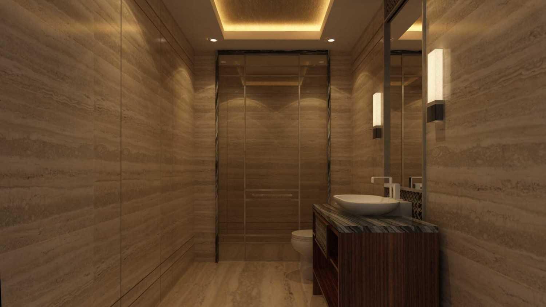 Foto inspirasi ide desain kamar mandi kontemporer Photo-17208 oleh VIN•DA•TE di Arsitag
