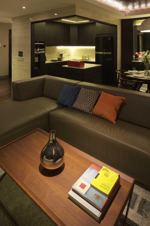 Vin•da•te Pavilion Apartment Jakarta-Indonesia Jakarta-Indonesia Livingroom Modern 17539