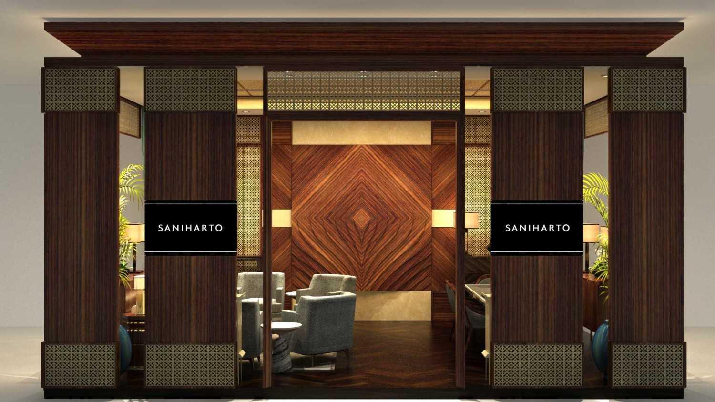 Foto inspirasi ide desain pintu masuk kontemporer Front view oleh VIN•DA•TE di Arsitag