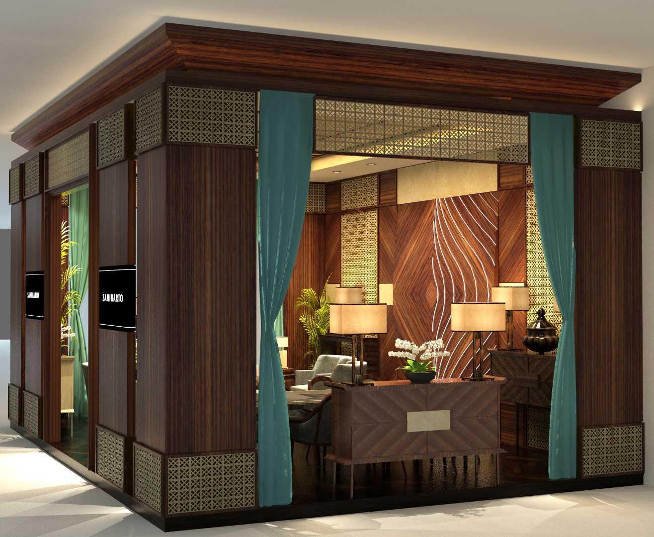 Foto inspirasi ide desain lobby kontemporer Side view oleh VIN•DA•TE di Arsitag