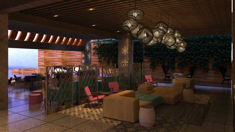 Foto inspirasi ide desain lobby kontemporer Lobby oleh VIN•DA•TE di Arsitag