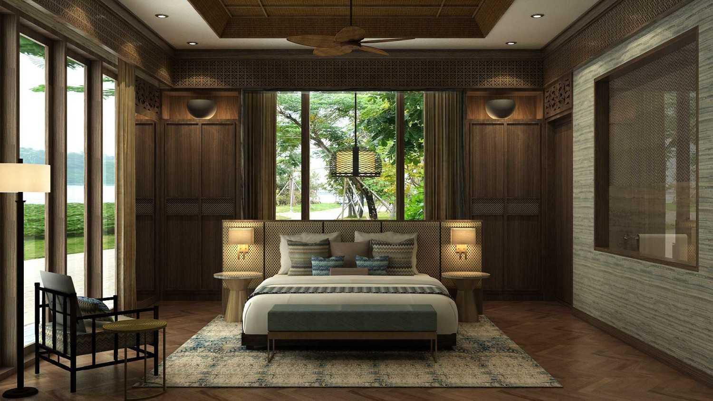 Foto inspirasi ide desain kamar tidur minimalis Bedroom oleh VIN•DA•TE di Arsitag