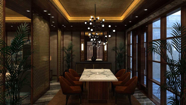 Foto inspirasi ide desain ruang meeting minimalis Seating area oleh VIN•DA•TE di Arsitag