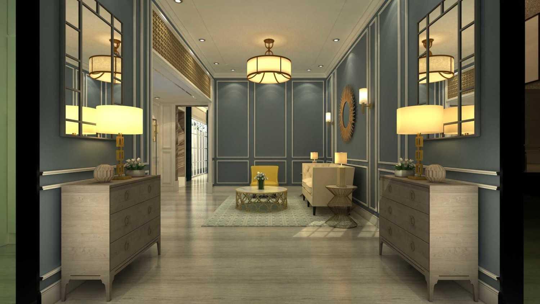 Foto inspirasi ide desain rumah kontemporer Guest room oleh VIN•DA•TE di Arsitag